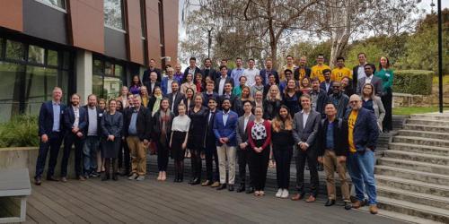 Group shot of the Nudgeathon participants