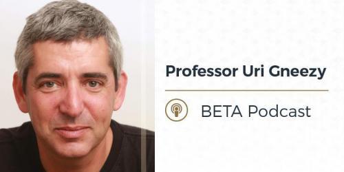 Professor Uri Gneezy